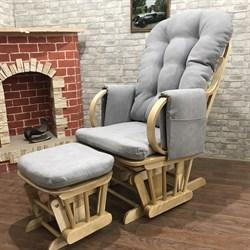 """Кресло-качалка """"Dondolo-1"""" с пуфом - фото 5631"""